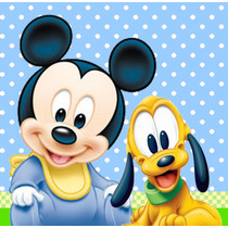 Kit Imprimible Mickey Mouse Bebe - Tarjetas Y Mas