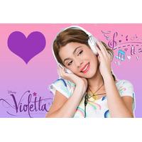 Kit Imprimible De Violeta De Disney - Incluye Candy Bar