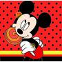 Kit Imprimible Candy Bar De Mickey Mouse - Rojo