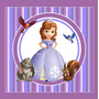 Kit Imprimible Princesa Sofia Candy Bar Invitaciones Deco