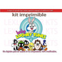 Kit Imprimible Candy Bar Baby Looney Tunes Bebes Cotillon