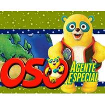 Kit Imprimible Oso Agente Especial Diseñá Tarjetas Y Mas