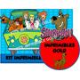 Kit Imprimible Scooby Doo Diseñá Tarjetas , Cumples Y Mas