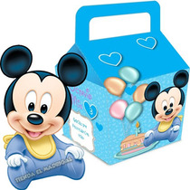 Kit Imprimible Mickey Bebe Disney Cumpleaños Cotillon 2x1