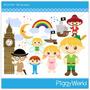 Kit Imprimible Peter Pan 2 Imagenes Clipart