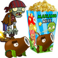 Kit Imprimible Zombies Vs Plants Candy Bar Golosinas 2x1