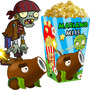 Kit Imprimible Zombies Vs Plants Candy Bar Golosinas 2x1