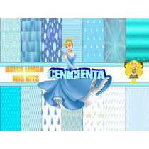 Kit Fondos Mas Imagenes Princesa Cenicienta!!!!!!