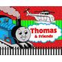 Kit Imprimible Thomas El Tren Diseñá Tarjetas, Cumples