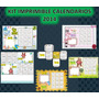 Kit Imprimible Calendarios 2014