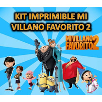 Kit Imprimible Mi Villano Favorito
