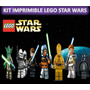Kit Imprimible Lego Star Wars