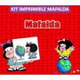 Kit Imprimible Mafalda