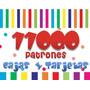 Kit Imprimible Mas De 11.000 Patrones Cajas Tarjetas Marcos