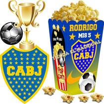 Kit Imprimible Boca Juniors Candy Bar Golosinas Tarjetas 2x1