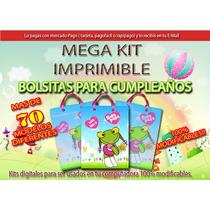 Hiper Mega Kit Imprimible De Bolsitas 2015 (2en1) +100 Dif