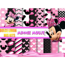 Kit Fondos Mas Imagenes Minnie!!