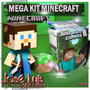 Super Mega Kit Imprimible 100% Editable Minecraft Jose Luis