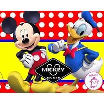 Kit Imprimible Mickey Mouse Diseñá Tarjetas Cotillon Mas 1
