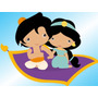Kit Imprimible Princesa Jasmine Aladdin Baby Candy Bar