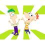 Kit Imprimible Phineas Y Ferb Cotillón Candy Invitaciones