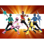 Kit Imprimible 2x1 Power Rangers Cotillón Candy Invitaciones