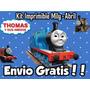 Kit Imprimible Thomas El Tren Y Sus Amigos, Golosinas Candy