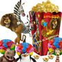 Kit Imprimible Madagascar 3 Cotillon Candy Bar Golosinas 2x1