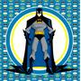 Kit Imprimible Batman Candy Bar Invitaciones Decoracion