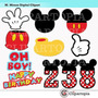 Kit Imprimible Mickey Mouse Imagenes Clipart