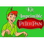 Kit Imprimible De Peter Pan