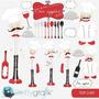 Kit Imprimible Top Chef Imagenes Clipart
