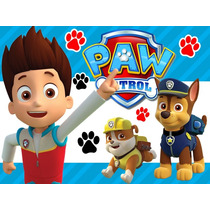 Kit Imprimible Paw Patrol Patrulla De Cachorros Candy Bar