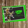 Kit Imprimible Tarjeta De Invitación Tortugas Ninja
