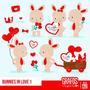 Kit Imprimible San Valentin Corazones 32 Imagenes Clipart