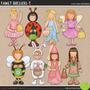 Kit Imprimible Fiesta De Disfraces 7 Imagenes Clipart
