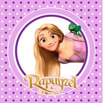Kit Imprimible Rapunzel Enredados Invitaciones Candy Bar Dec