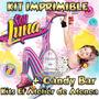 Kit Imprimible Candy Bar Soy Luna Golosinas Cumples Mas 2x1