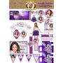Kit Imprimible - Cumple Tematico Violetta