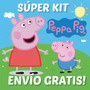 Super Kit Imprimible Peppa Pig. Invitaciones, Cumple!