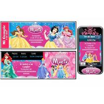 Cumpleaños Temático De Las Princesas De Disney