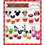 Kit Imprimible Mickey Minnie Cupcake Cumple Souvenir