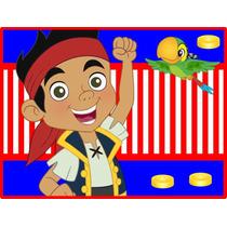 Kit Imprimible Candy Bar Golosinas De Jake Y Los Piratas 2x1