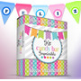 Kit Imprimible Candy Bar, Golosinas, Banderines, Y Mucho Mas
