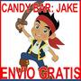 Kit Imprimible Jake Y Piratas Candy Bar Golosinas