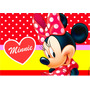 Kit Imprimible Minnie Mouse Roja Tarjetas - Candy Bar Y Mas