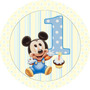 Kit Imprimible Mickey Bebe Golosinas Personalizadas Candy
