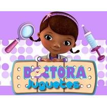 Kit Imprimible Doctora Juguetes Diseñá Tarjetas Candy Bar 1