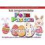 Kit Imprimible Pascua Candybar