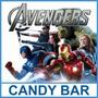 Kit Imprimible Los Vengadores Candy Bar Cumple Golosinas
